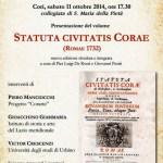 STATUTA-CIVITATIS-CORAE-LOCANDINA