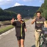 Caserta: Cyclolenti, Marco Buonomo in Comune