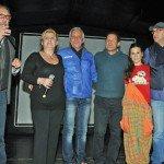 Foto gruppo palco festa befana 2015