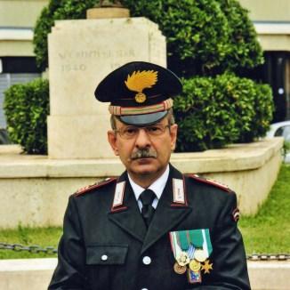 Giovanni Giannattasio in servizio a Nettuno