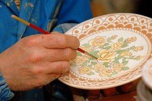 Laboratorio di ceramica a cura della Coop. La Valle