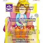 Locandina Flash mob Anzio