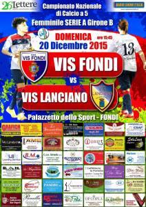 Locandina Le Cinèma Vis Fondi - Vis Lanciano