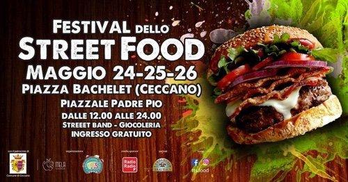 CECCANO FESTIVAL STREET FOOD - 24-25-26 MAGGIO.   Telegolfo-RTG Emittente Televisiva CH 810 Notizie dal Golfo di Gaeta LT