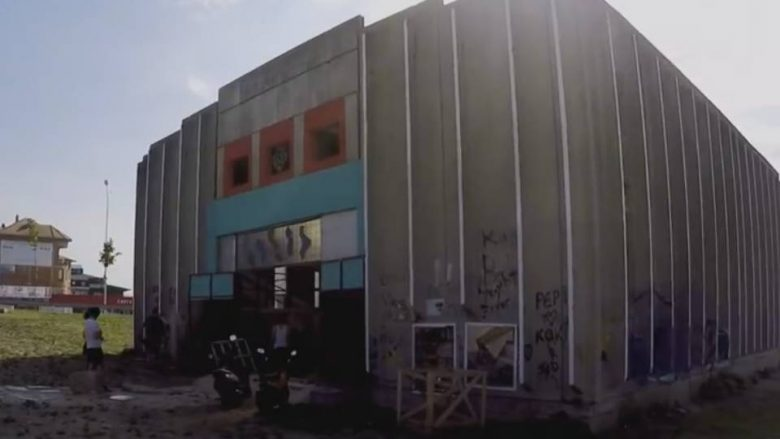 An example to be followed in Pristina: Where used drugs, will become art (Video)