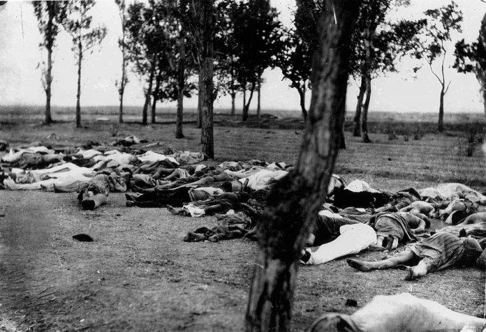 Armenci ubijeni tijekom deportiranja u Siriju