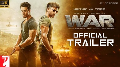 Photo of War Official Trailer 4K | Hrithik Roshan | Tiger Shroff | Vaani Kapoor
