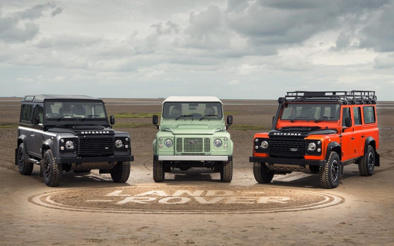 Limited Edition Land Rover Defenders Announced
