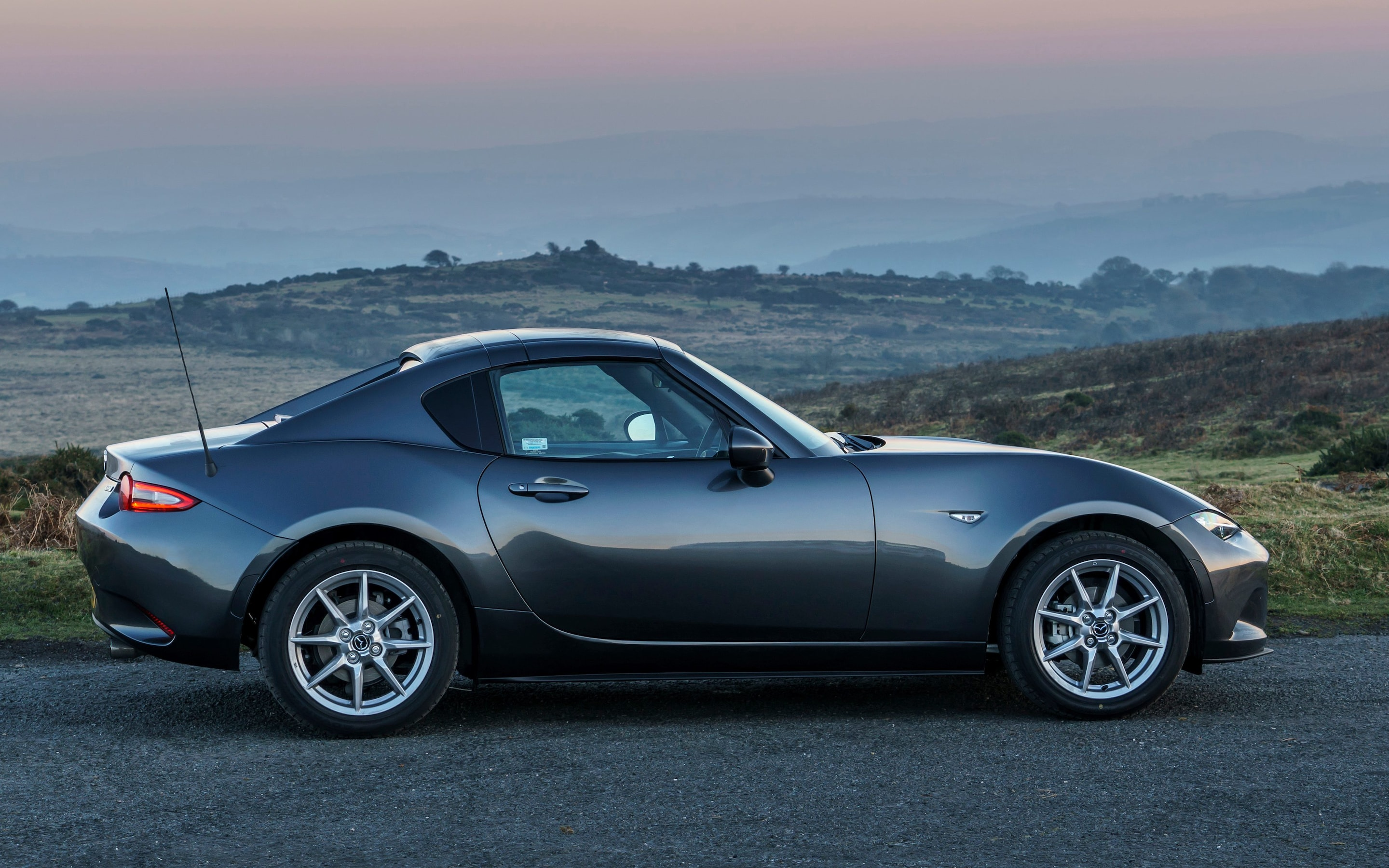 Mazda MX 5 RF Review Does A Roof Make The Worlds Best