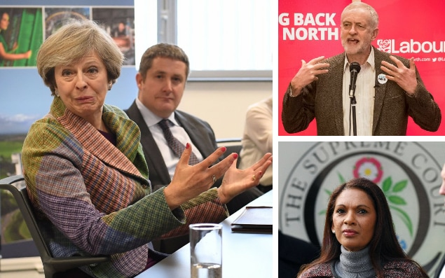 Live: May Corbyn Miller