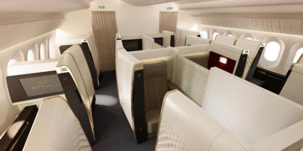 Etihad Airways' First Class suite