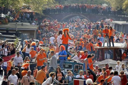 Image result for kings day amsterdam