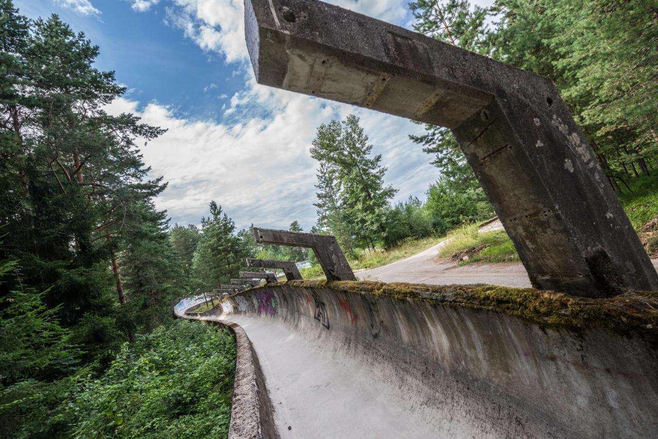 Eerie Photos Of Abandoned Olympic Venues As They Look
