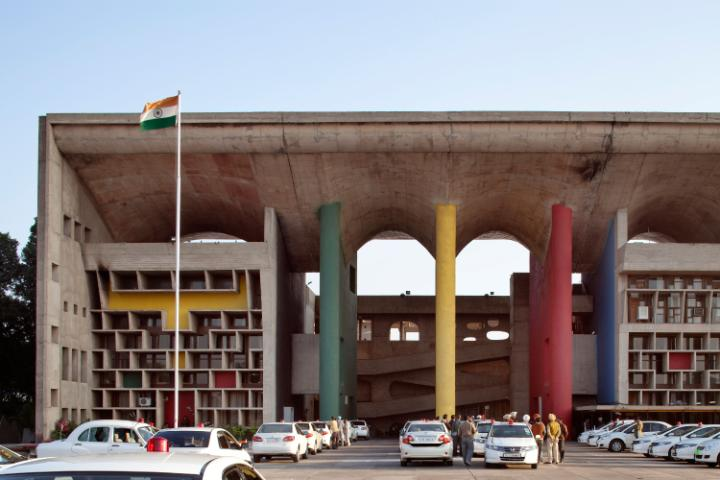 In The Architectural Work Of Le Corbusier An Outstanding