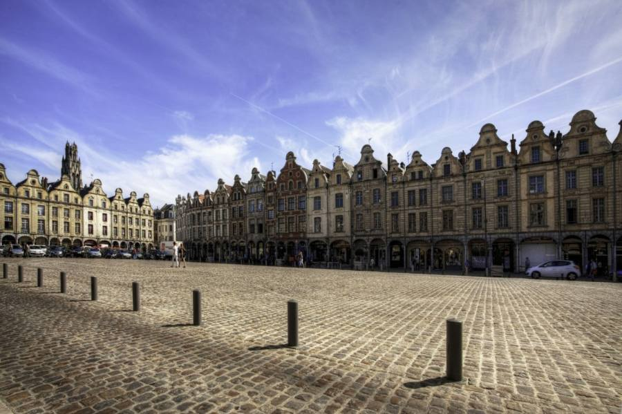 The town of Arras