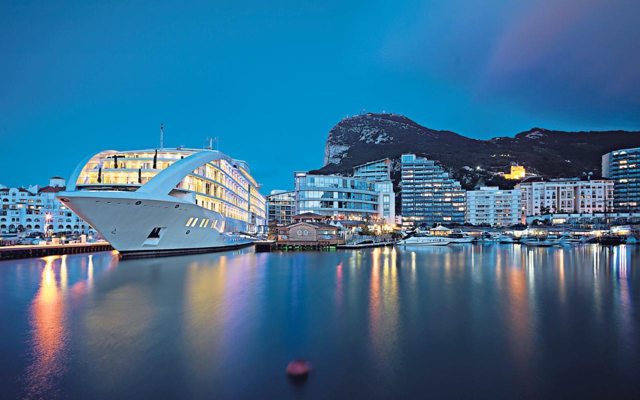 A Cruise To Nowhere In Gibraltar