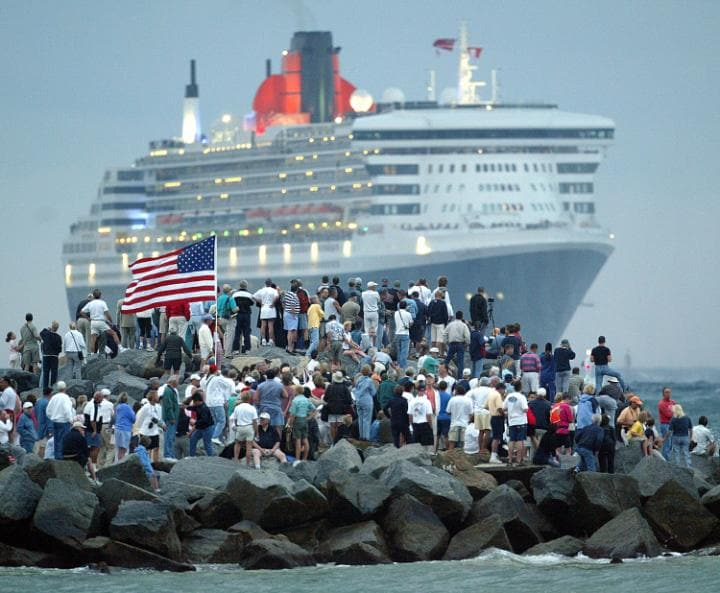 Cruise lines register their ships in some far-flung places (like Bermuda)