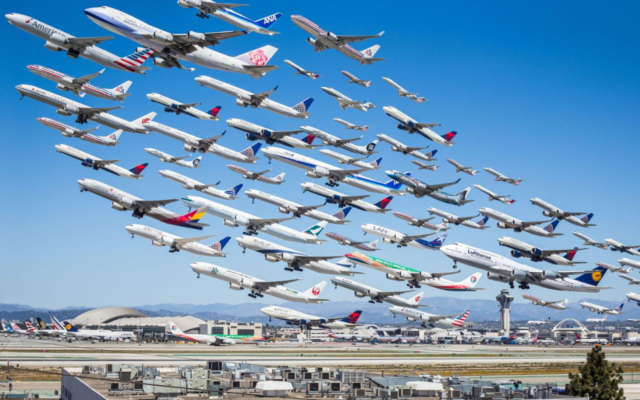 Aviation Dork Captures A Day S Worth Of Planes In Single