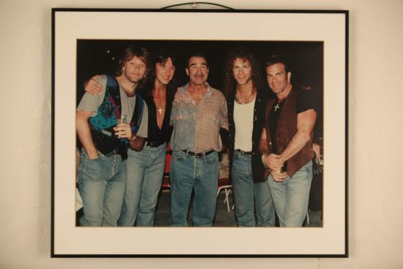 Bon Jovi with Tony Pike