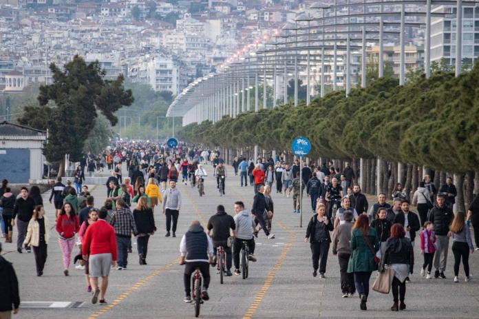 Crowds returned to Thessaloniki this week