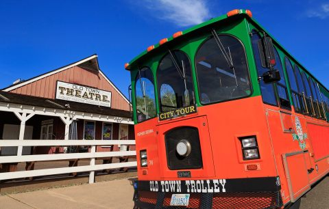 An old town trolley