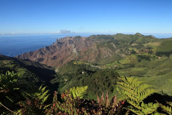 The tiny Atlantic outpost of St Helena