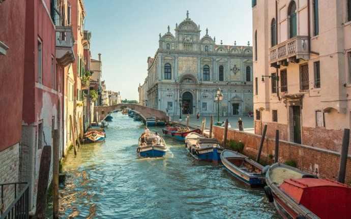 cidades mais românticas da Europa veneza