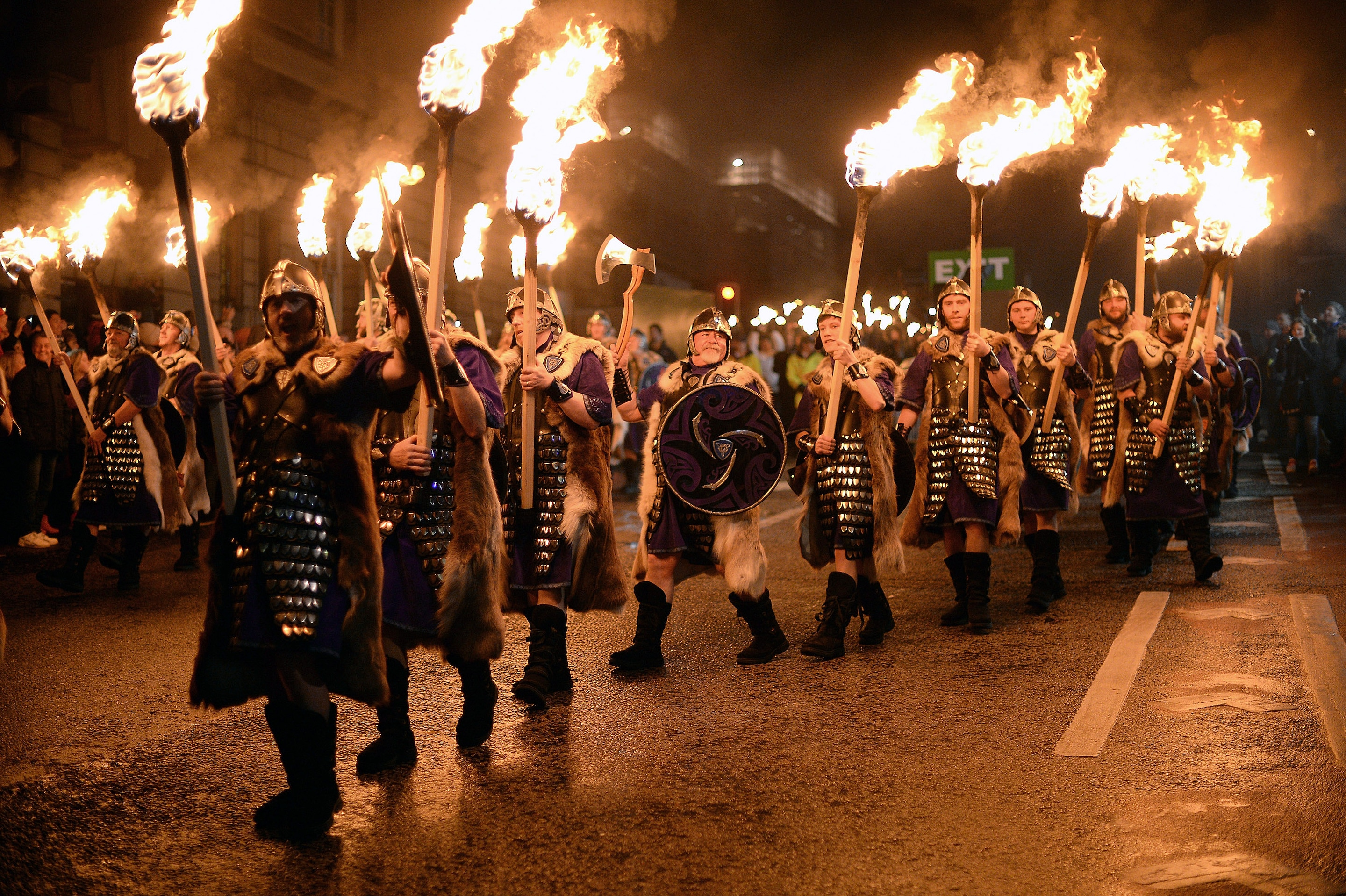 Edinburgh Hogmanay  everything you need to know   Telegraph The Torchlit procession last year