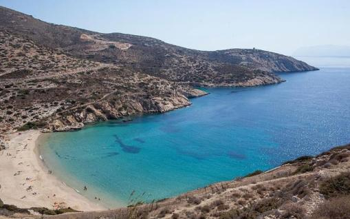Naxos is known for its sandy beaches and surprisingly lush interior