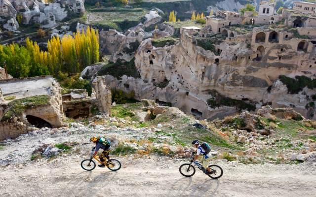 Mountain biking in Turkey