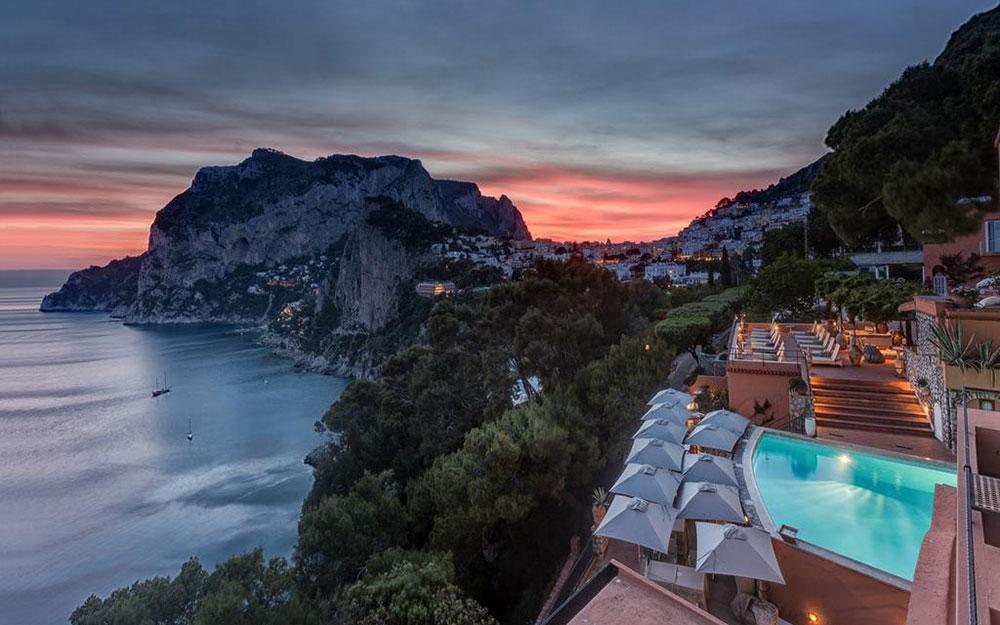 The Best Hotels On The Italian Islands Telegraph Travel
