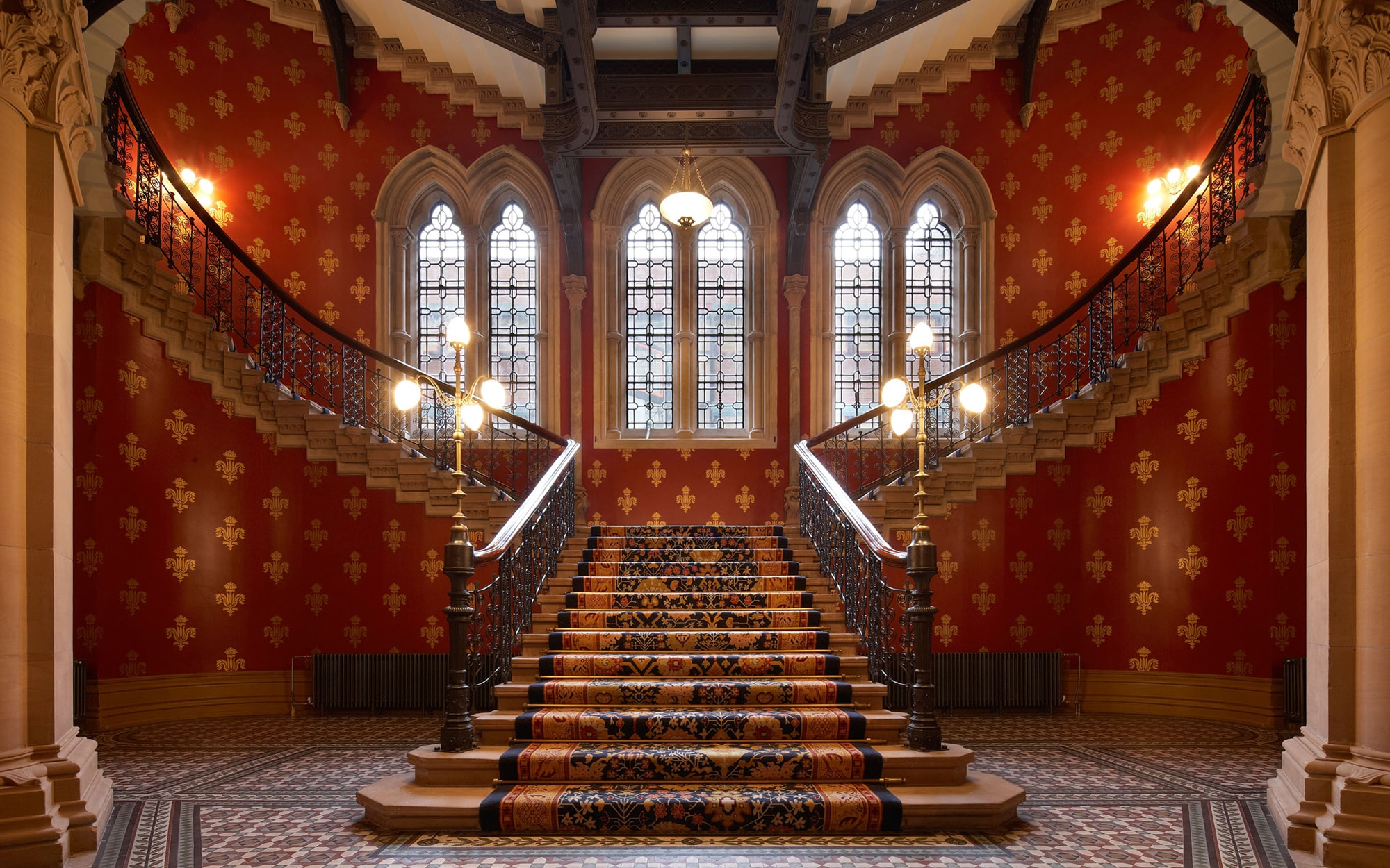 The World S Most Instagrammable Hotel Staircases Telegraph Travel