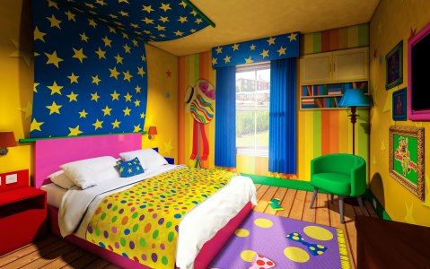 Accommodation at Alton Towers' CBeebies Hotel