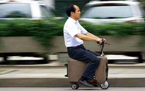 The ban also includes smart suitcases powered by a motor allowing it to be used as a scooter or other transport device