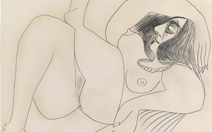 Pablo Picasso, Female Nude