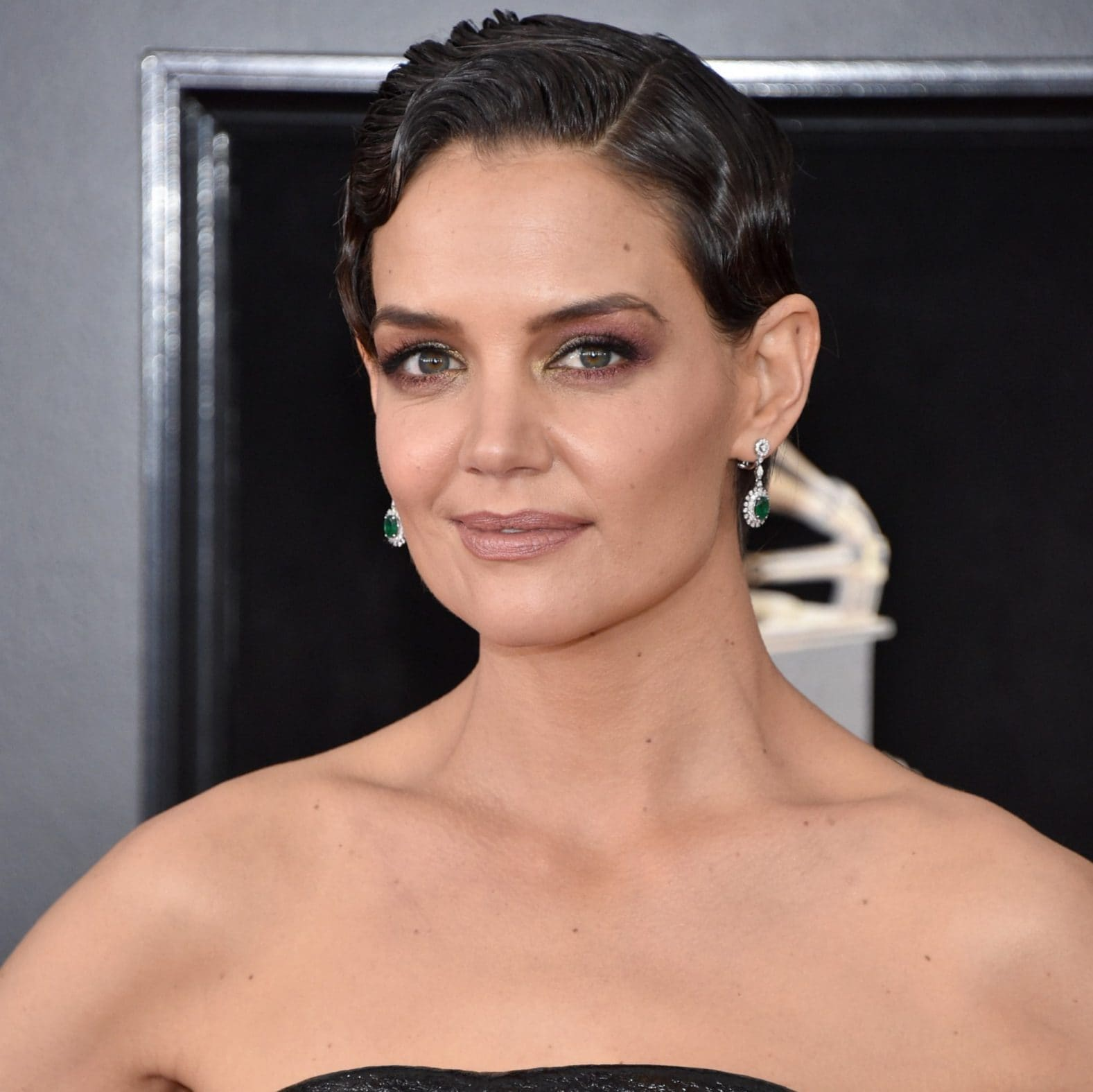 Katie Holmes Grammys 2018 The Best Beauty Looks Amp How