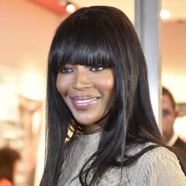 Naomi Campbell in Milan