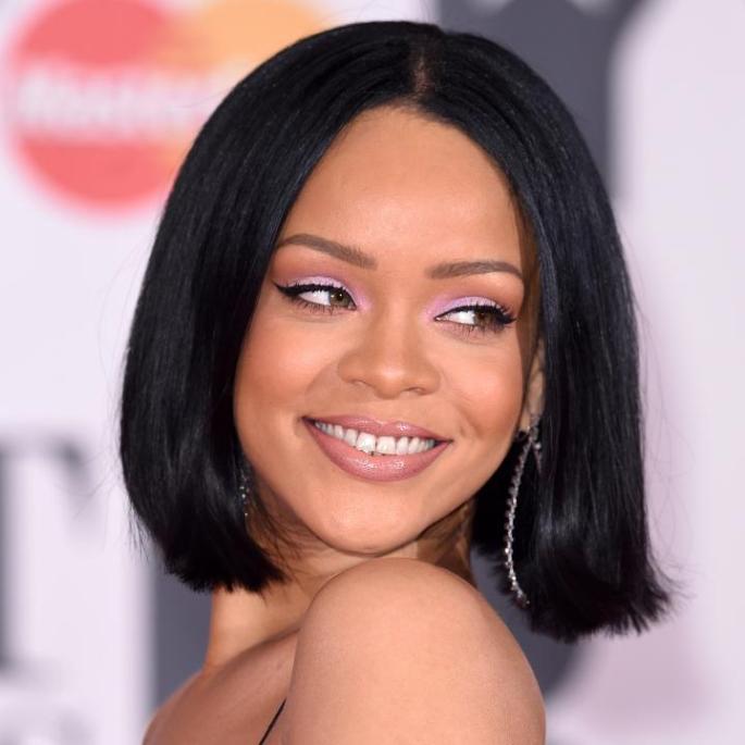 Rihanna at the Brits