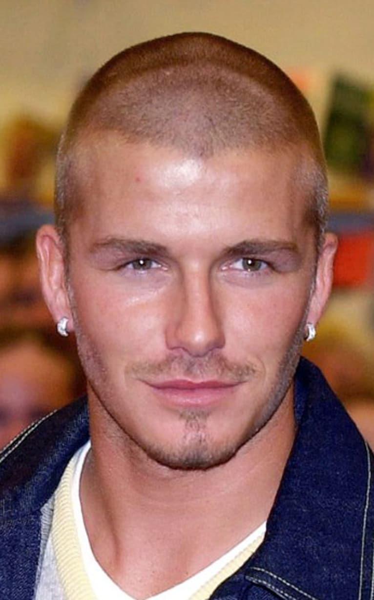 Skinhead David Beckhams Hair Beauty