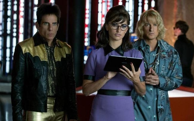 Ben Stiller, Penélope Cruz and Owen Wilson in Zoolander 2