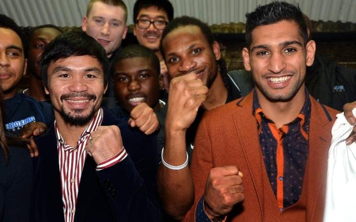 Image result for image of pacquiao and khan