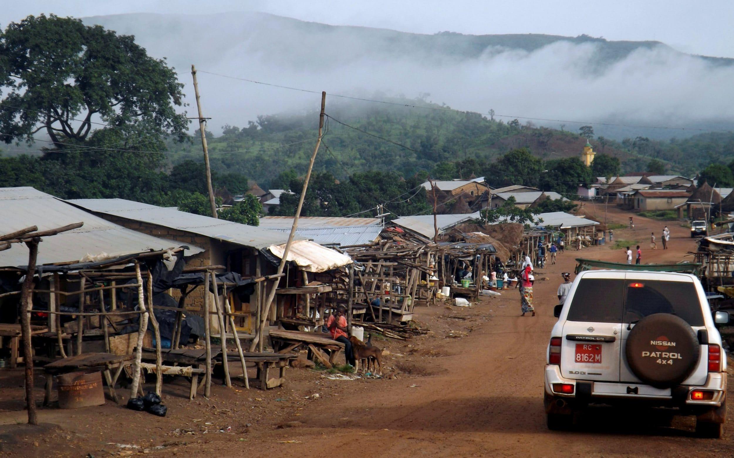 car in Guinea