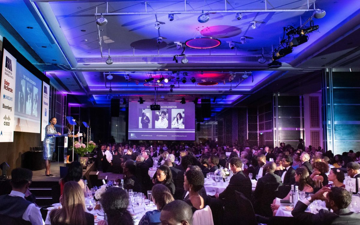 Audience at Black British Business Awards last year