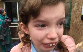 Charlotte Gunn says her daughter Katie was distraught after strike action lead to chaos at her school in Derby