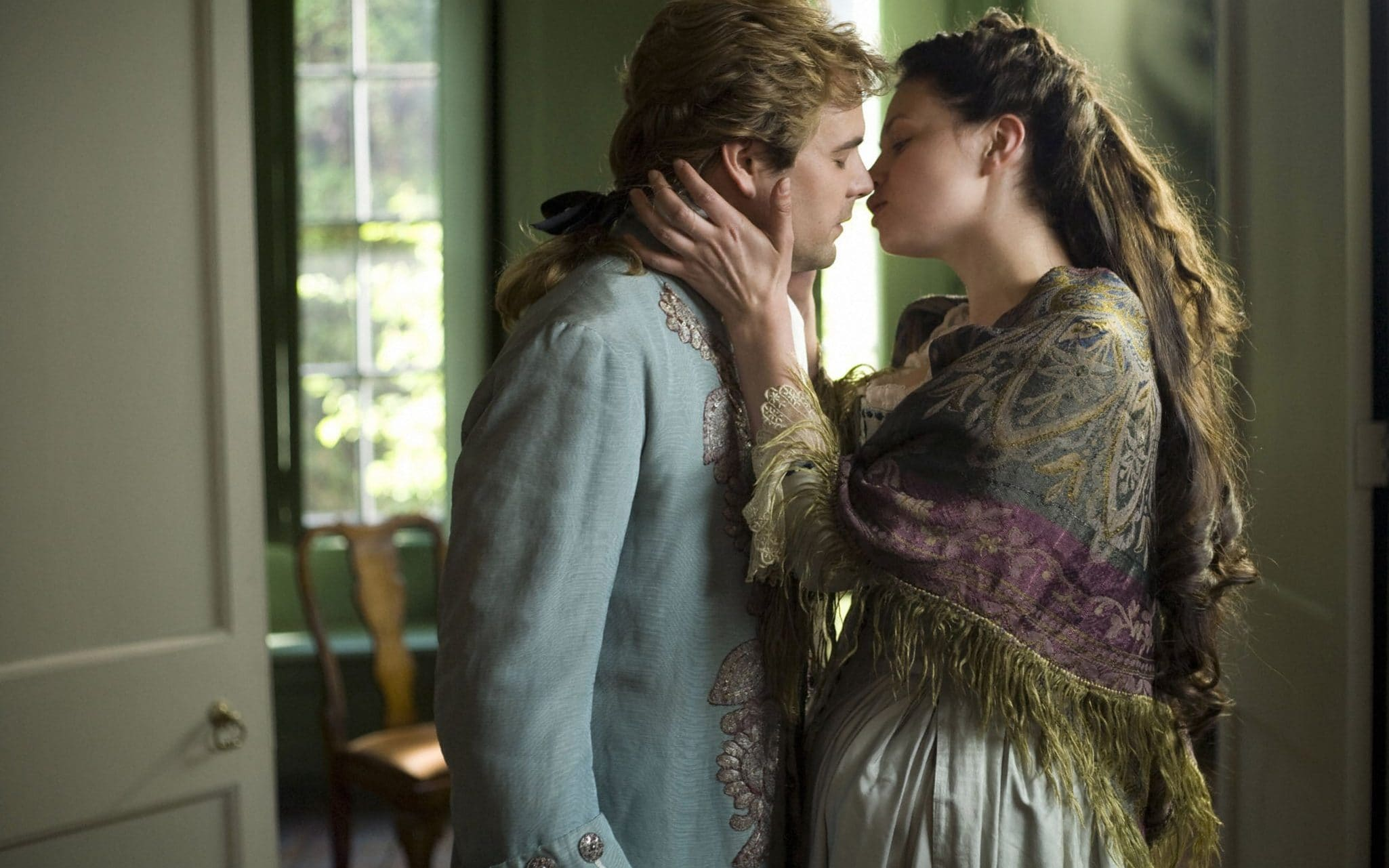 Steamy passion abounds in Fanny Hill, seen here in the adaptation for BBC Four