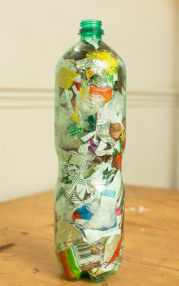 Should you turn your waste plastic into 'ecobricks'?