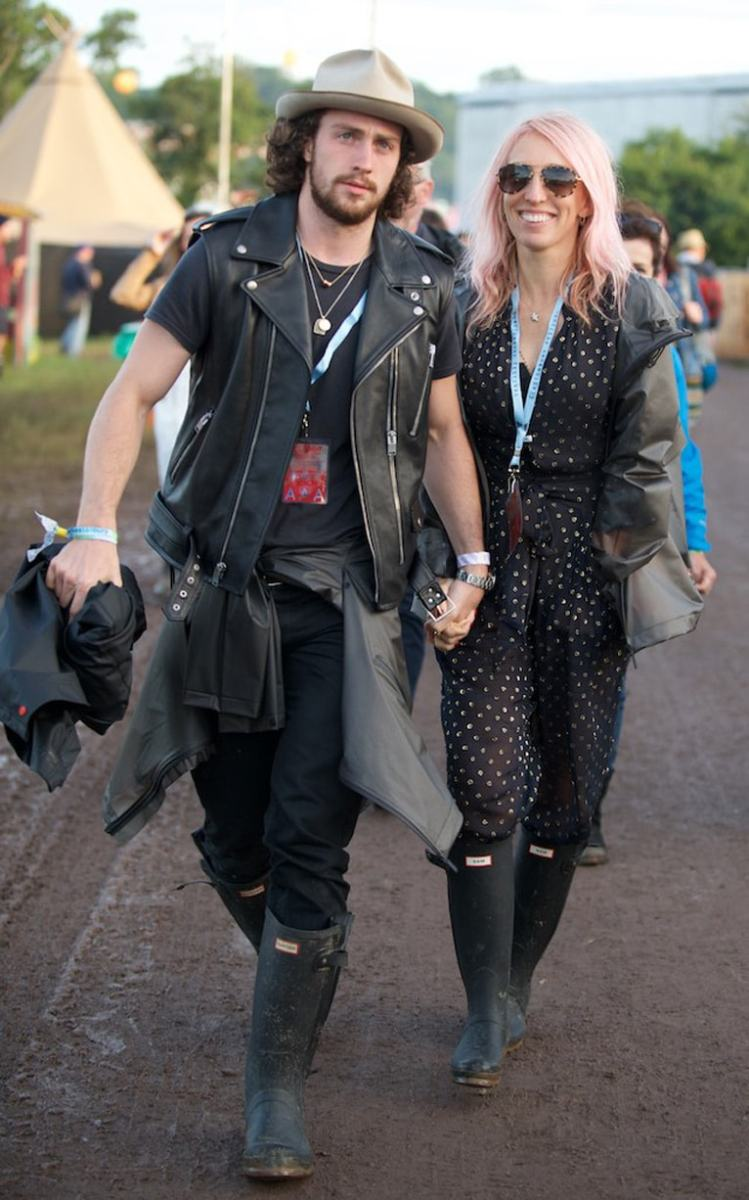 Sam & Aaron Taylor-Johnson | What they're wearing at ...