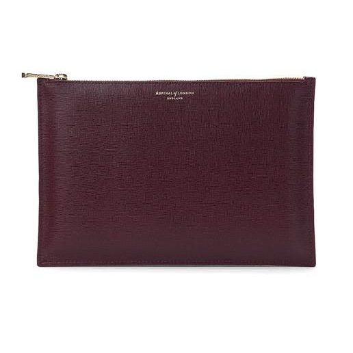 Large essential flat pouch, £75, Aspinal