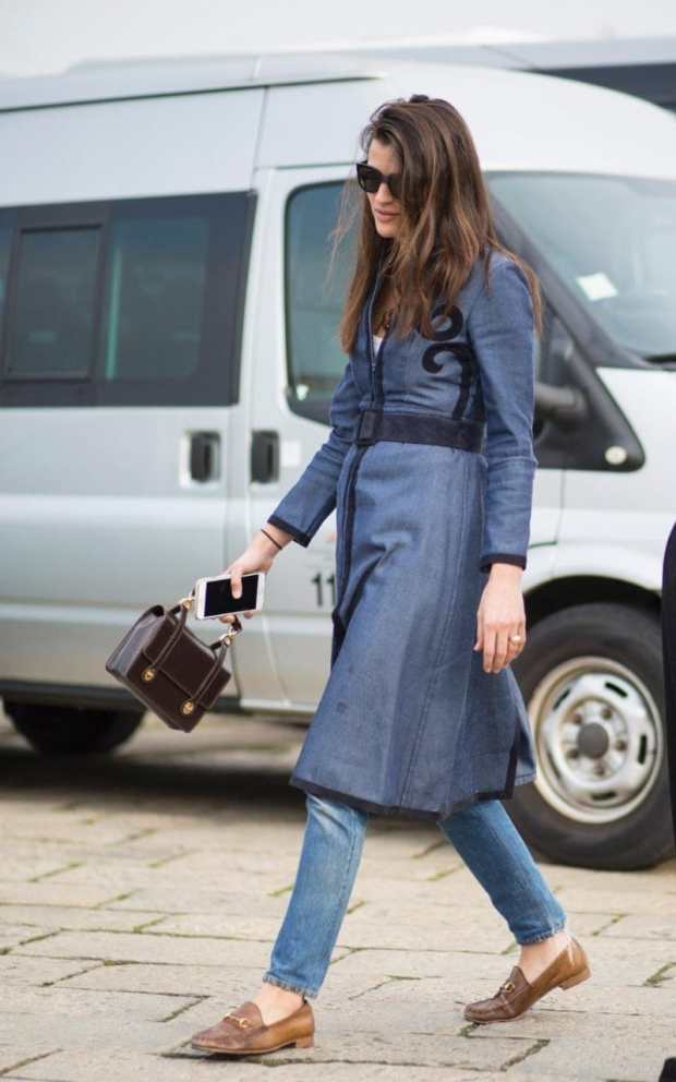 If in doubt, a neatly cut knee-length coat over a pair of classic jeans and loafers will never be out of style