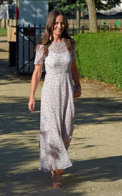 Pippa Middleton wears L.K. Bennett to the Frost Summer Party